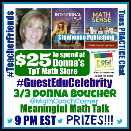 #TeacherFriends Chat with @MathCoachCorner