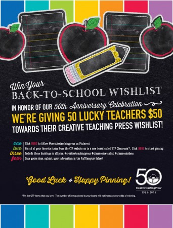 Creative Teaching Press 50th Anniversary