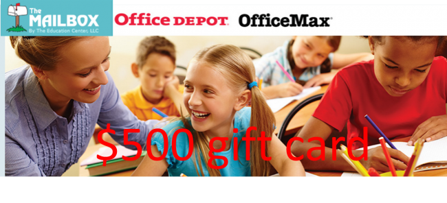 MailboxOfficeDepotMax500GiftCardGiveaway