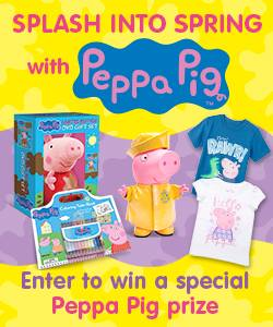 Splash into Spring with Peppa Pig