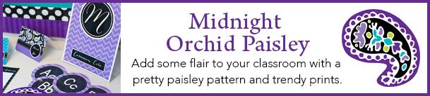 SchoolgirlStyleMidnight Orchid Paisley