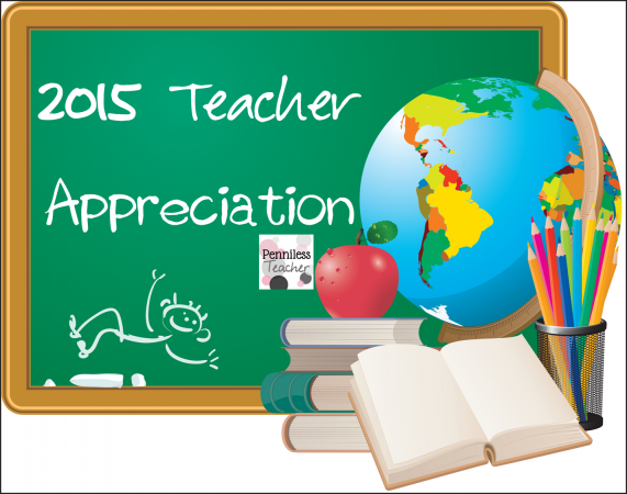 Teacher Appreciation 2015