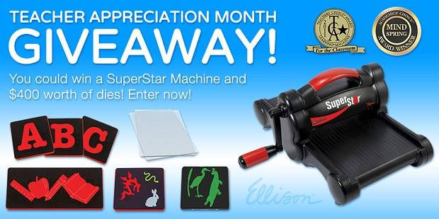 Ellison Teacher Appreciation Month Giveaway
