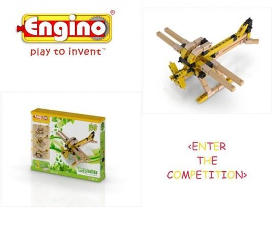 Engino Eco-Plane Giveaway