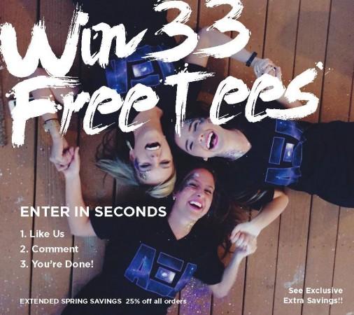 Win 33 Custom T-Shirts