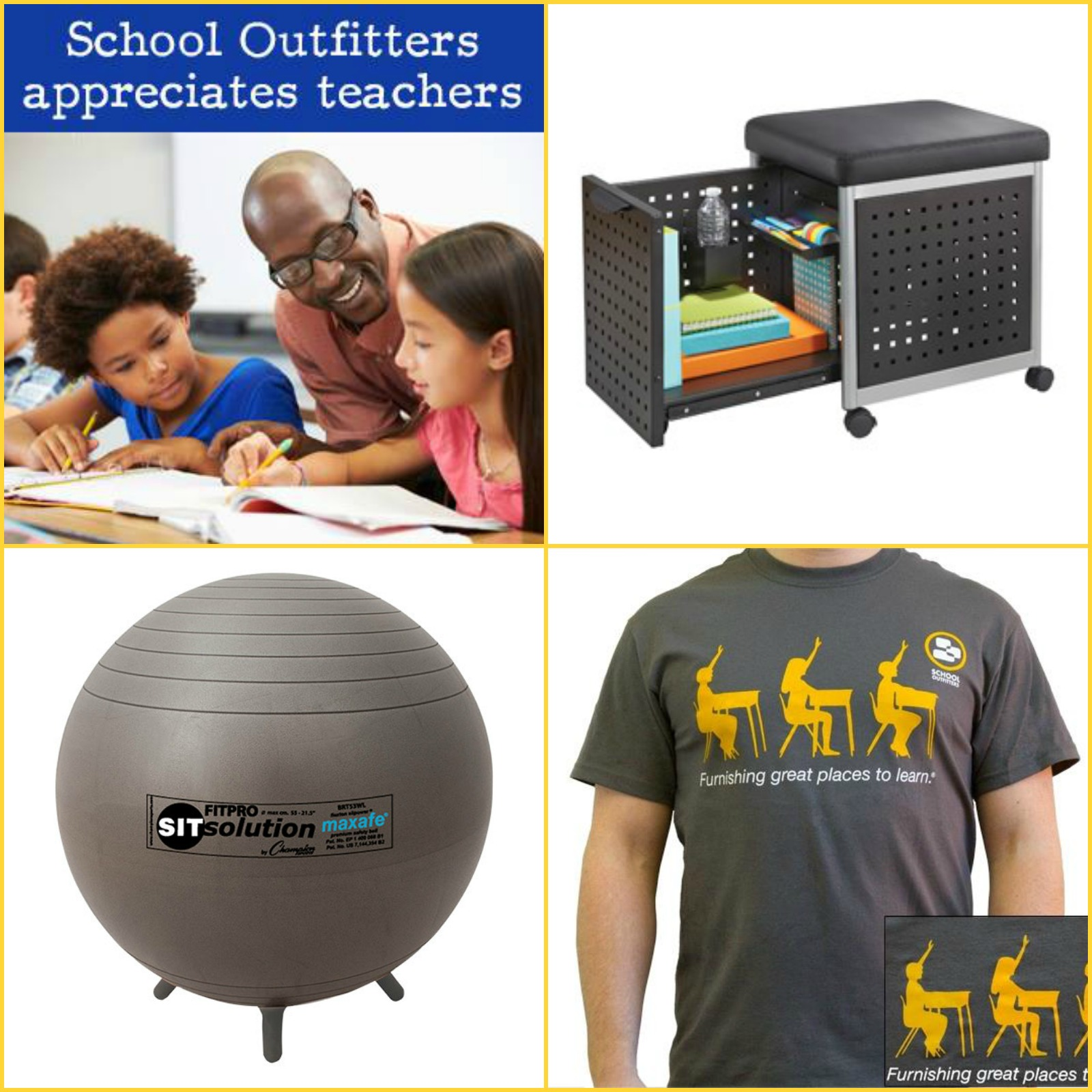 SCHOOLHOUSE OUTFITTERS LLC APRIL Group - Audio Visual Equipment and Accessories Contractor Schoolhouse Outfitters LLC dba School Outfitters.