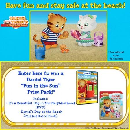 Daniel Tiger Fun in the Sun Giveaway
