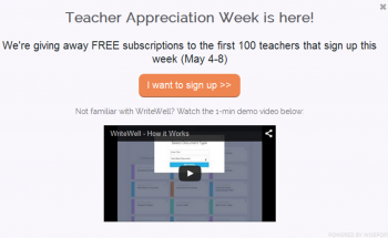 WriteWellTeacherAppreciationGiveaway