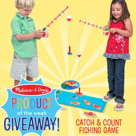 Melissa & Doug Catch & Count Fishing Giveaway