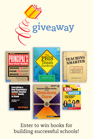 Books for Building Successful Schools Giveaway