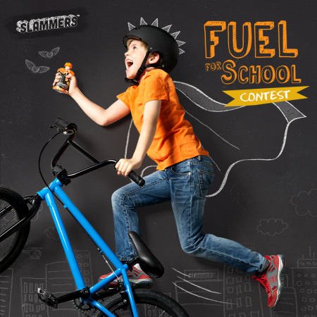 Fuel for School Slammers Giveaway
