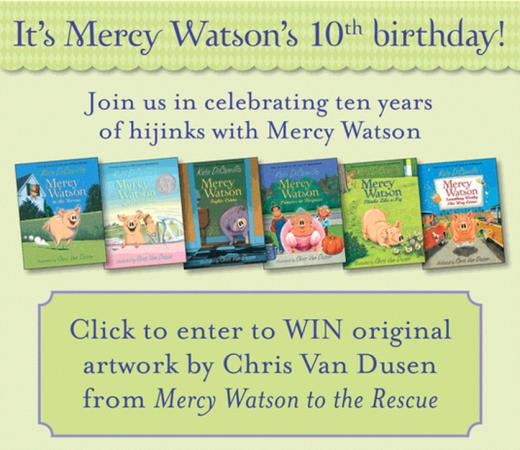 Mercy Watson Giveaway