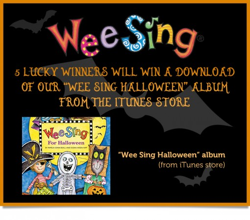 Wee Sing for Halloween Giveaway