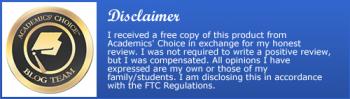 AcademicsChoiceDisclaimer