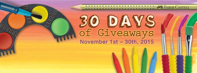 Faber-Castell 30 Days of Giveaways