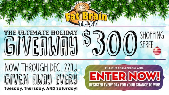 Fat Brain Toy Shopping Spree Giveaway