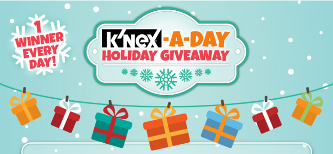 K'NEX-A-Day Holiday Giveaway