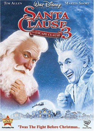 THE SANTA CLAUSE 3THE ESCAPE CLAUSE