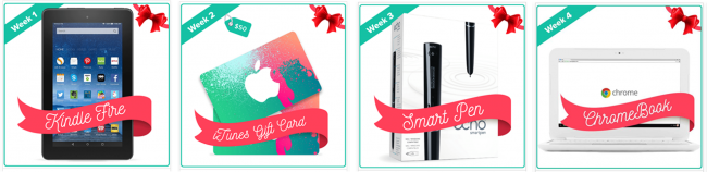 Tech the Halls Giveaway