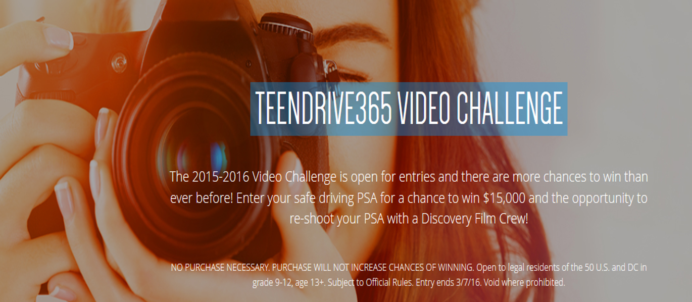 TeenDrive365VideoChallengeContest