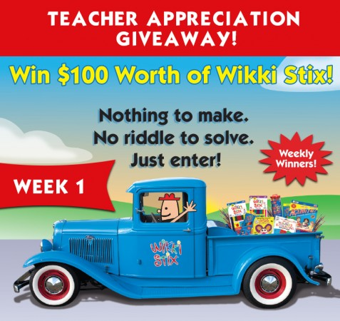 Wikki Stix Teacher Giveaway