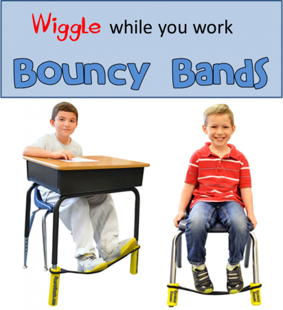 Wiggle while you work with Bouncy Bands