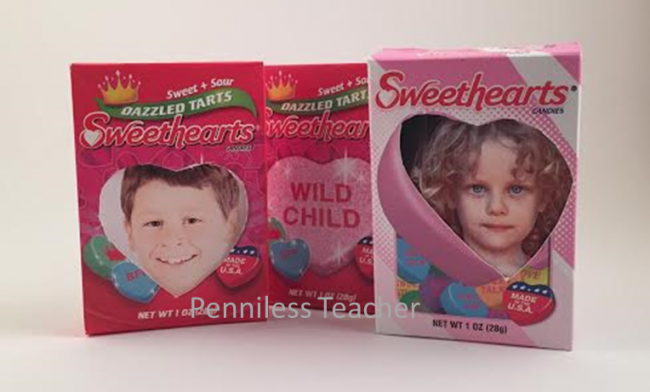 Valentine Day Conversation Candy Craft