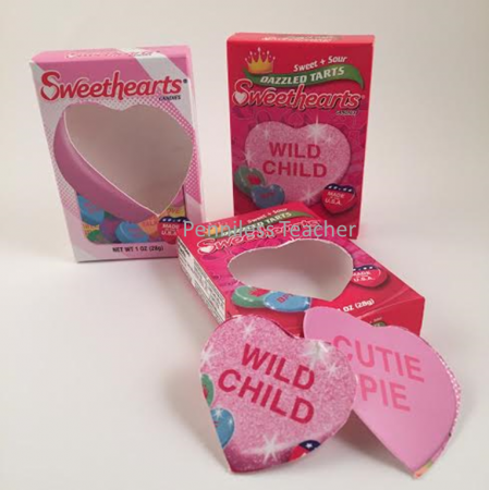 Sweetheart Candy Valentine Craft