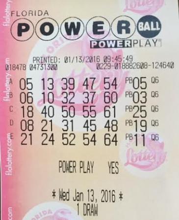 I Won The Lottery