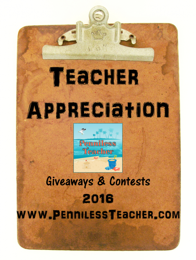 Teacher Appreciation 2016