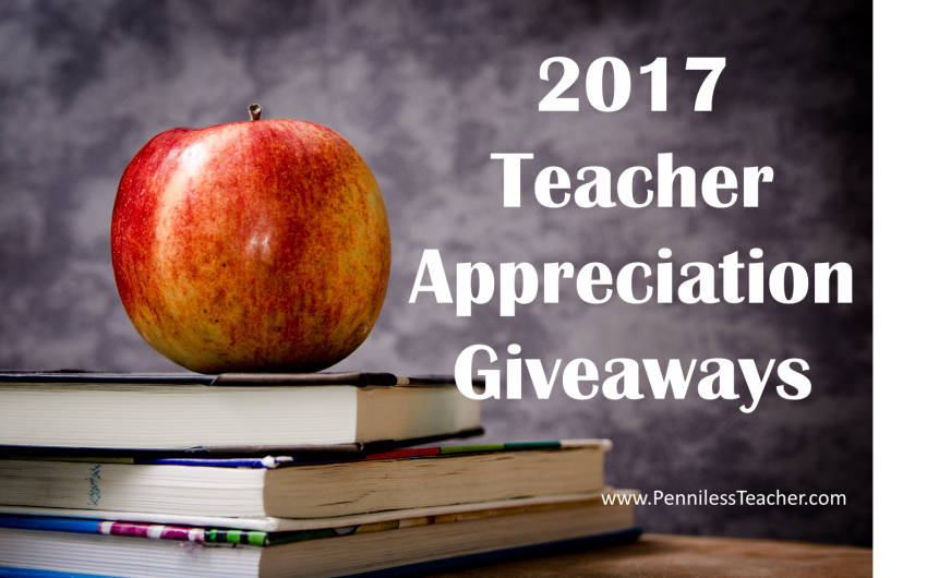Teacher Apprecation 2017