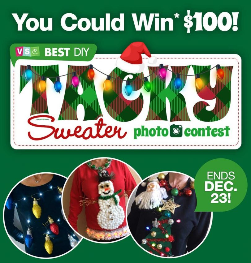 Dollar Tree Ugly Sweater Contest