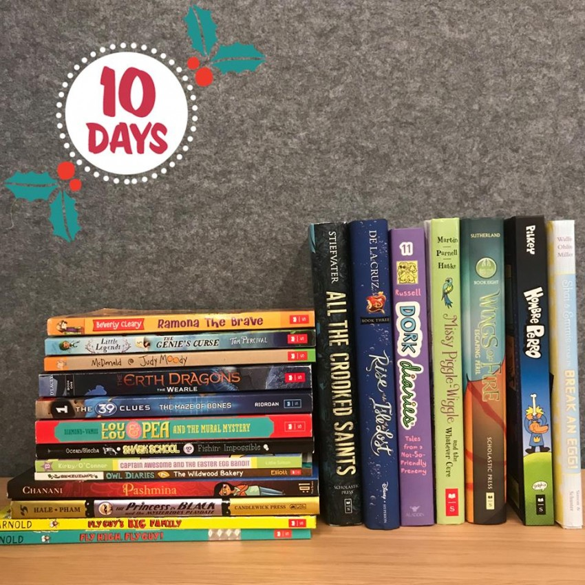 Scholastic Books 12 days2017