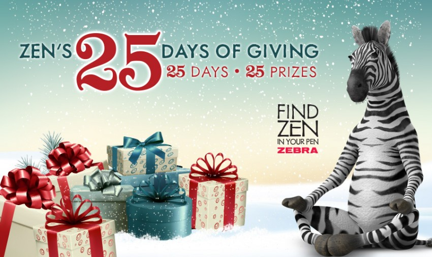 Zebra25DaysofGiving