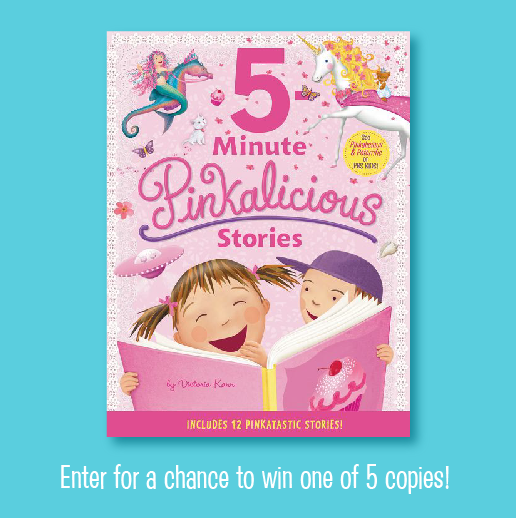 Pinkalicious 5-Minute Stories Giveaway