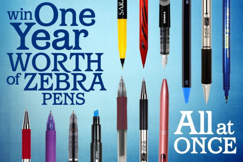 Pens for a YEAR Giveaway