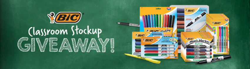 Classroom Stock Up Giveaway